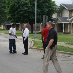 Mayor Bob O'Dekirk Site Visit Photo #5