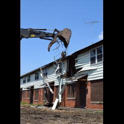 Des Plaines Gardens Demolition Ceremony Photo #101