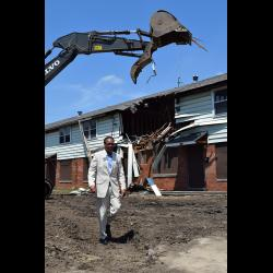 Des Plaines Gardens Demolition Ceremony Photo #114