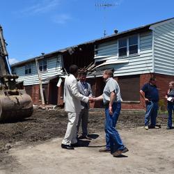 Des Plaines Gardens Demolition Ceremony Photo #145