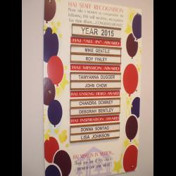 All In Recognition 2015